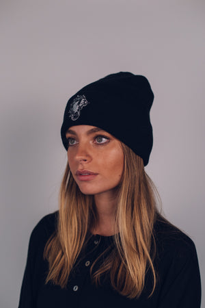 Beanie Icon Black