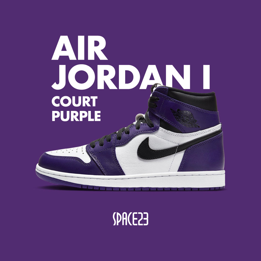 Air Jordan 1 Purple Court space23