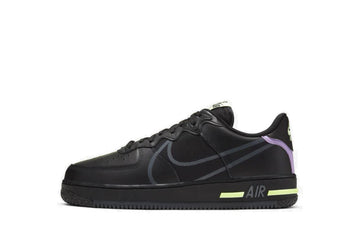 Nike Air Force 1 React Nero Viola
