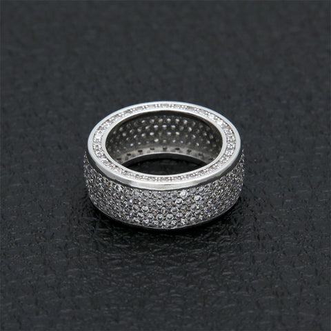 Iced Micro-Paved Ring