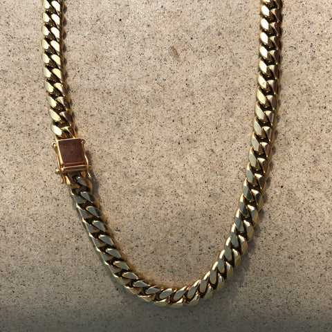 8-14mm Stainless Steel Cuban Chains