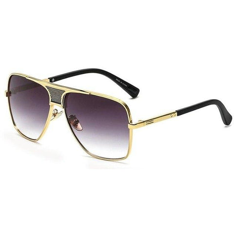 Screened Aviator Sunglasses