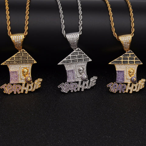 Iced Trap House Pendant