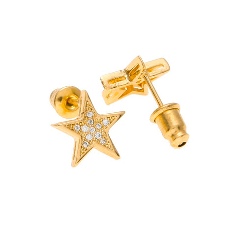 Iced Star Earrings