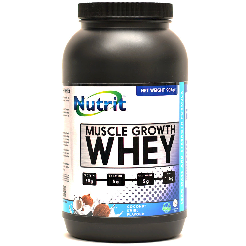 MUSCLE GROWTH WHEY - Whey protein powder for Women/Men