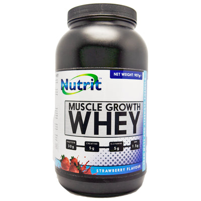 MUSCLE GROWTH WHEY -Boost Recovery & Performances- BEST SELLER - Nutrithealth