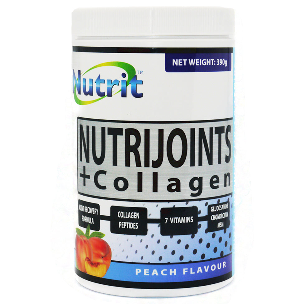 NUTRIJOINTS + COLLAGEN - Supplement for Joints & Skin - 1 Month supply - Nutrithealth