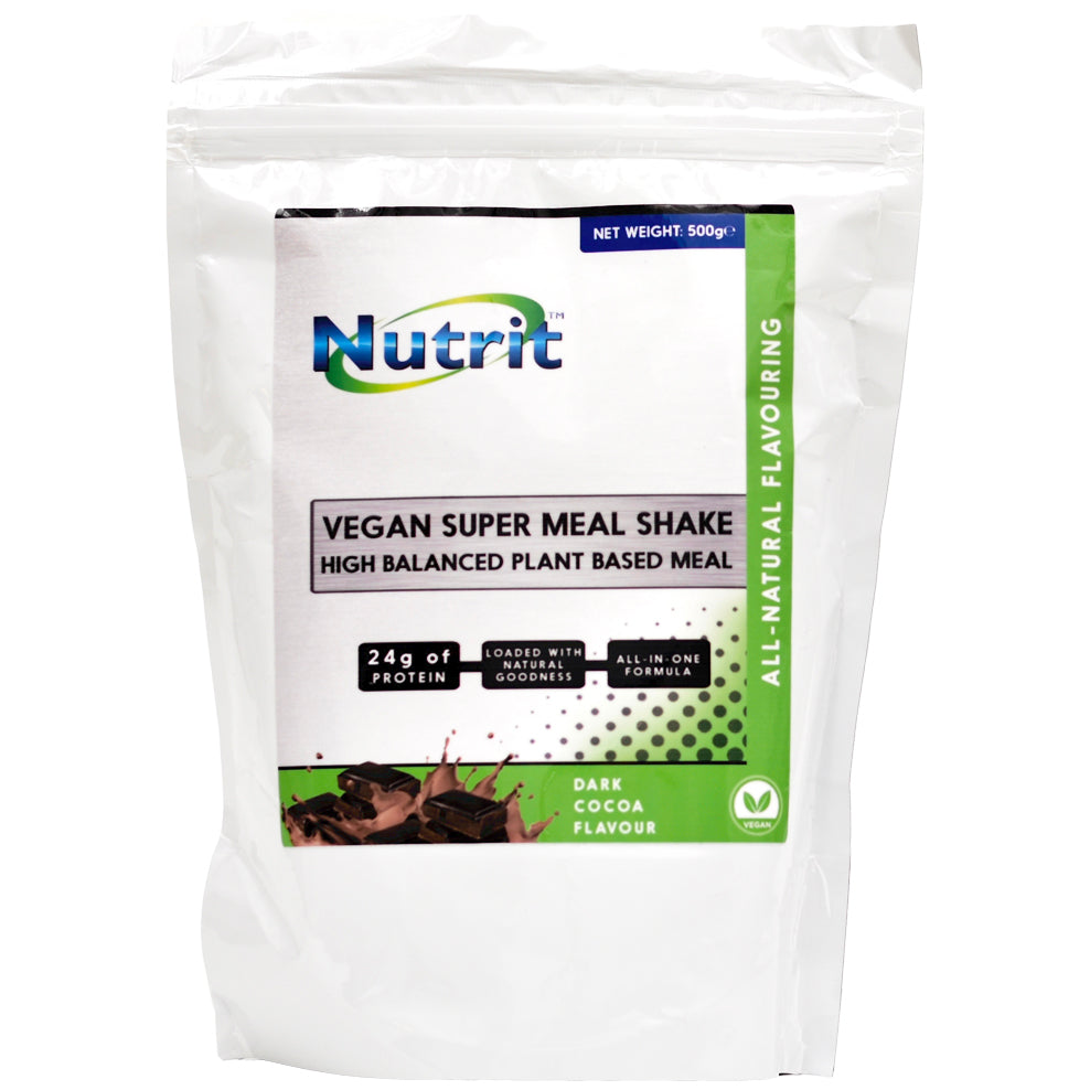 VEGAN SUPER MEAL SHAKE- High Balanced Plant-Based Meal - Nutrithealth