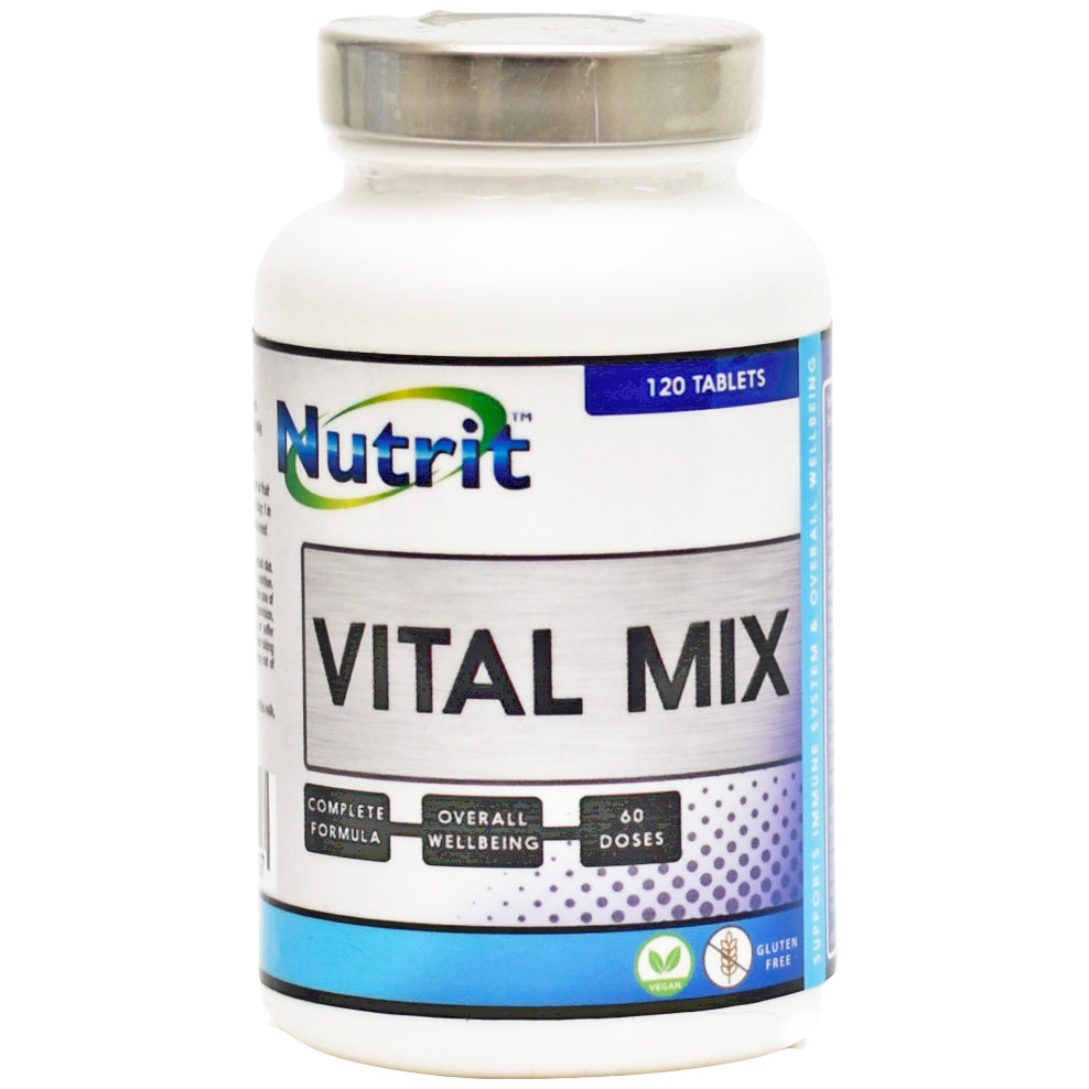 VITAL MIX Multivitamin & Minerals - Up to 2 Months supply