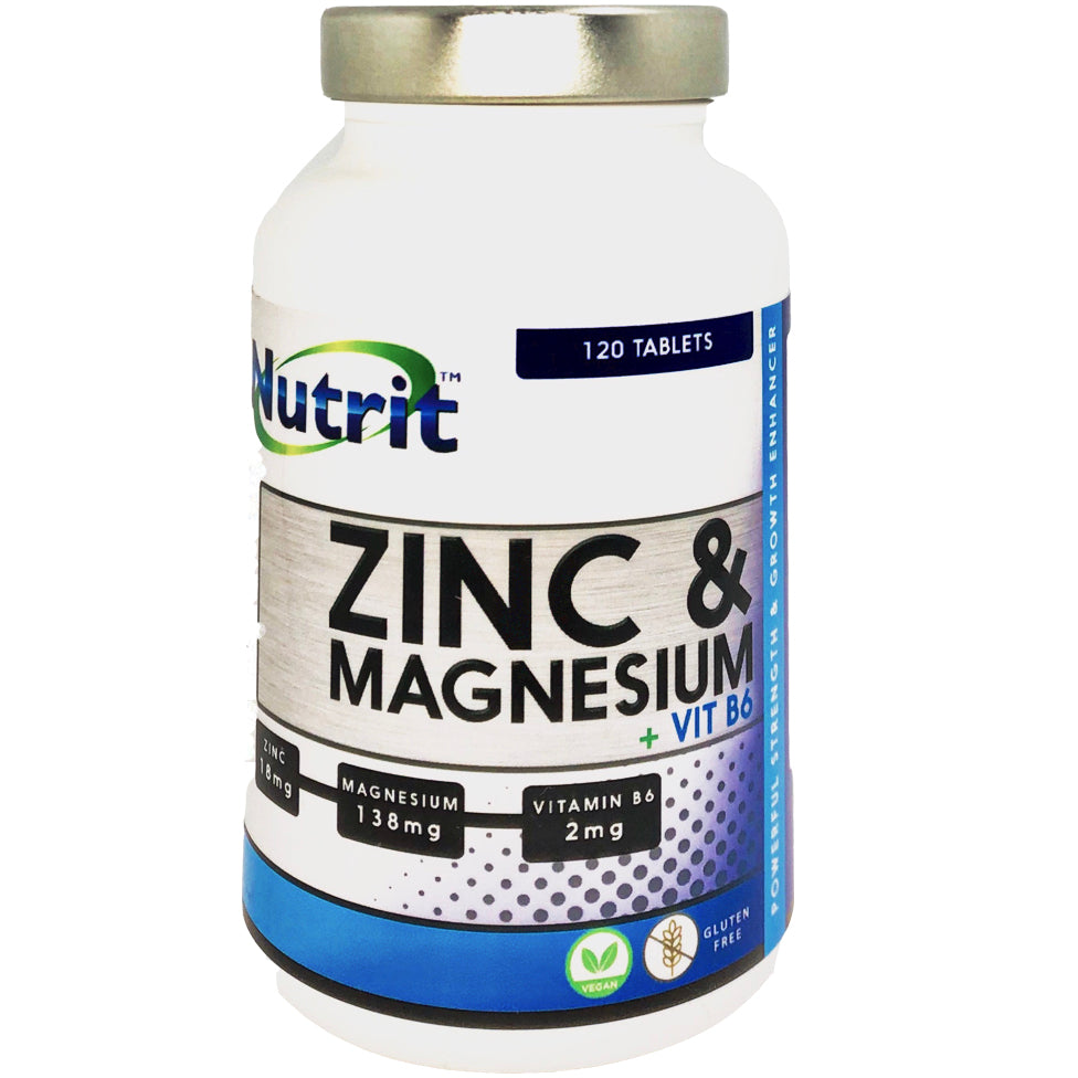 ZINC & MAGNESIUM + VITAMIN B6 - 2 Months Supply