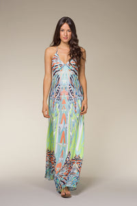 LISA Printed Summer Maxi Dress