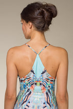 Load image into Gallery viewer, LISA Multicolored Summer Maxi Dress