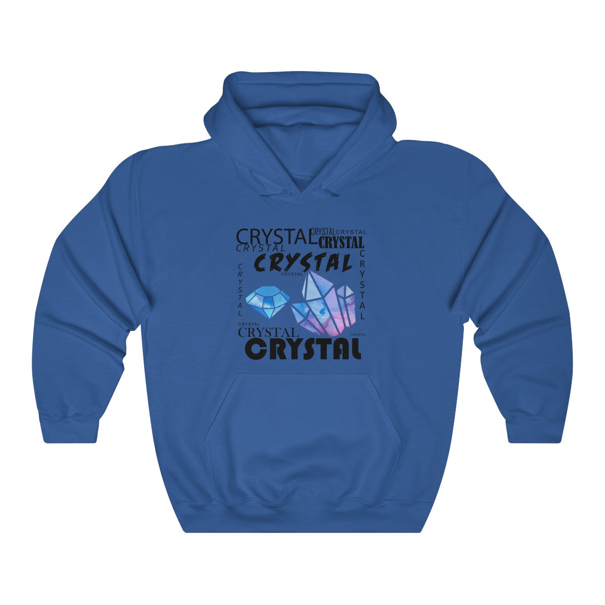COOL CRYSTAL Unisex Heavy Blend™ Hooded Sweatshirt
