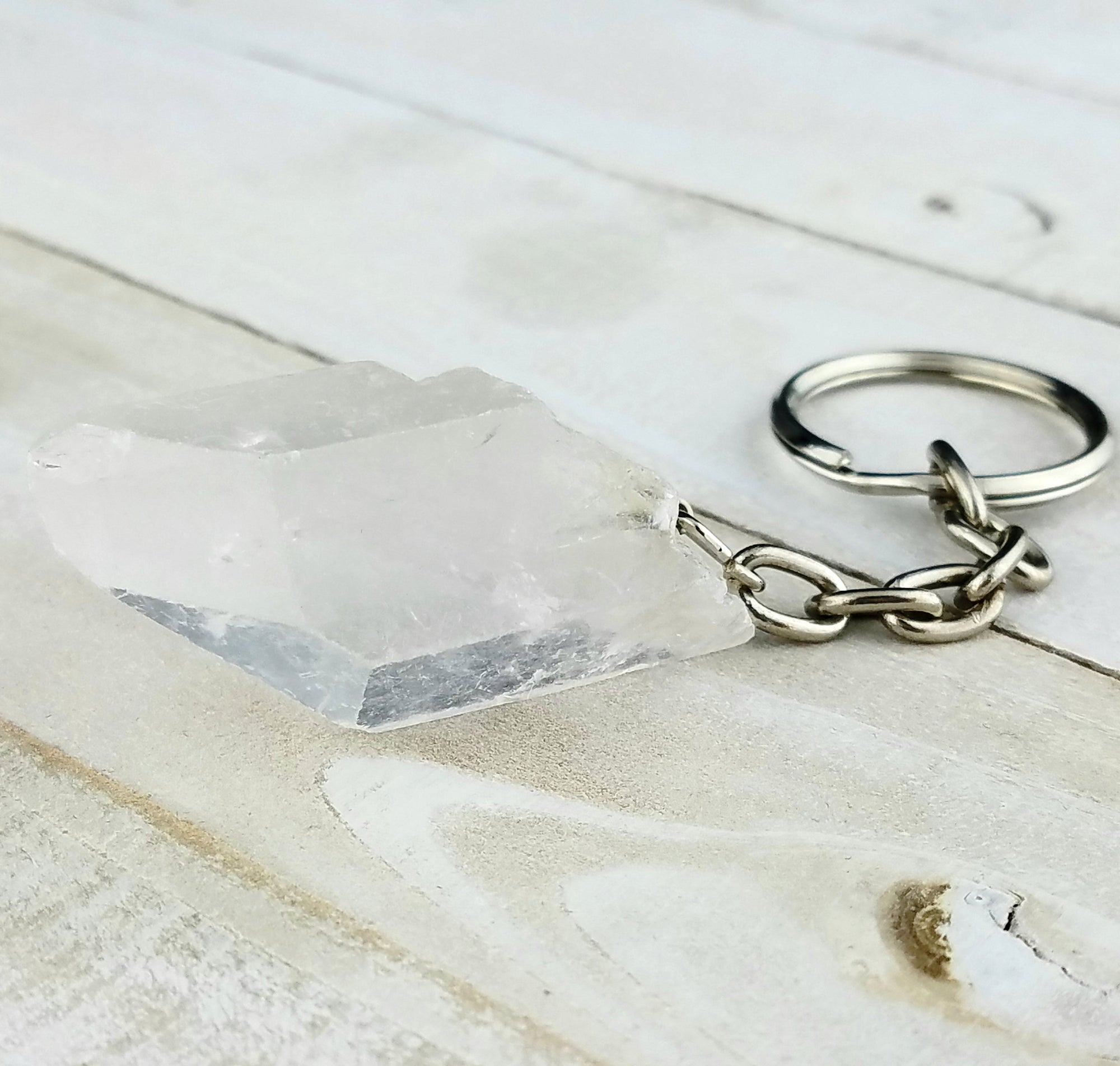 Pocket Cleanser Quartz Keychain