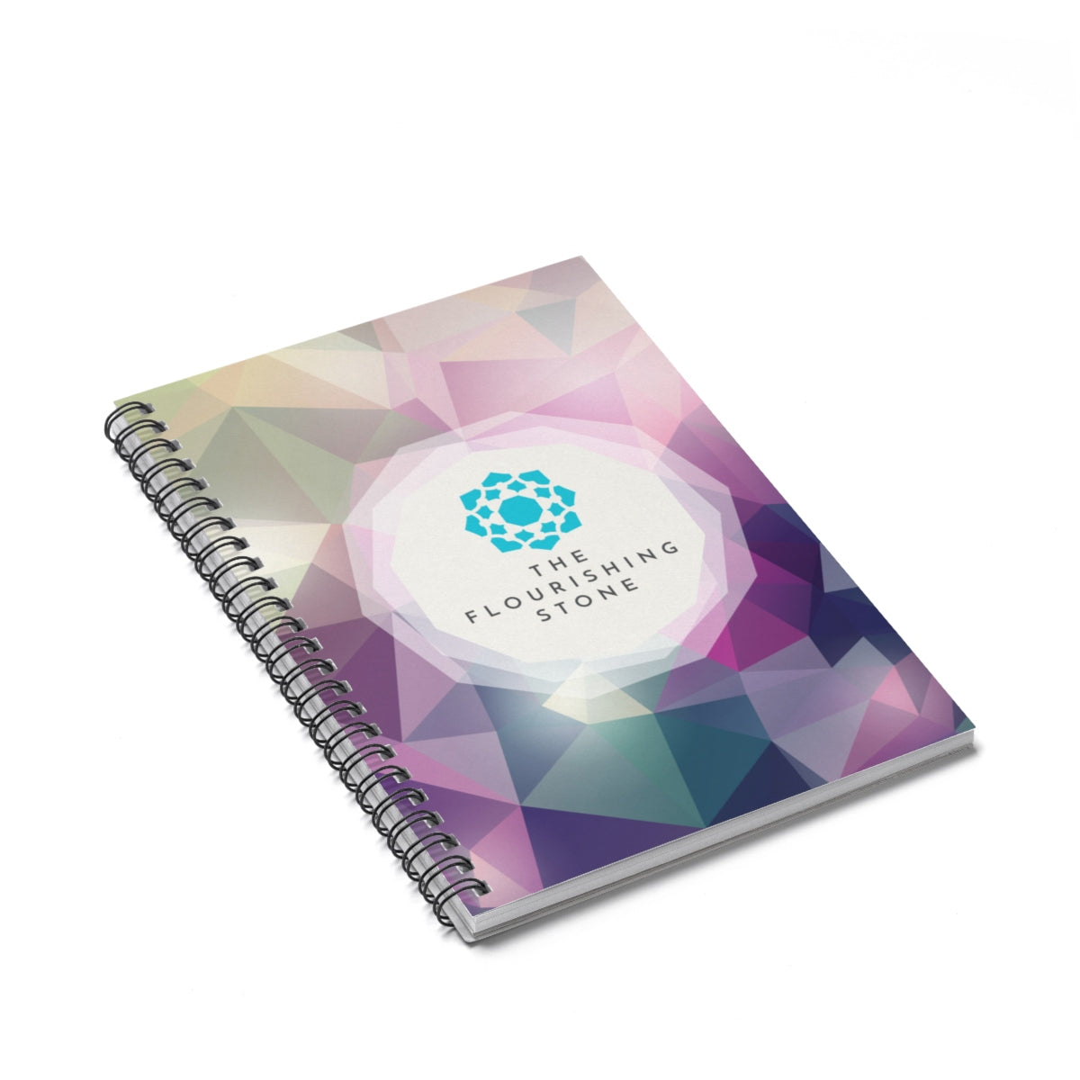 Crystal Spiral Notebook - Ruled Line