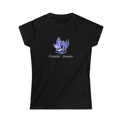Crystal Queen Blue Women's Softstyle Tee