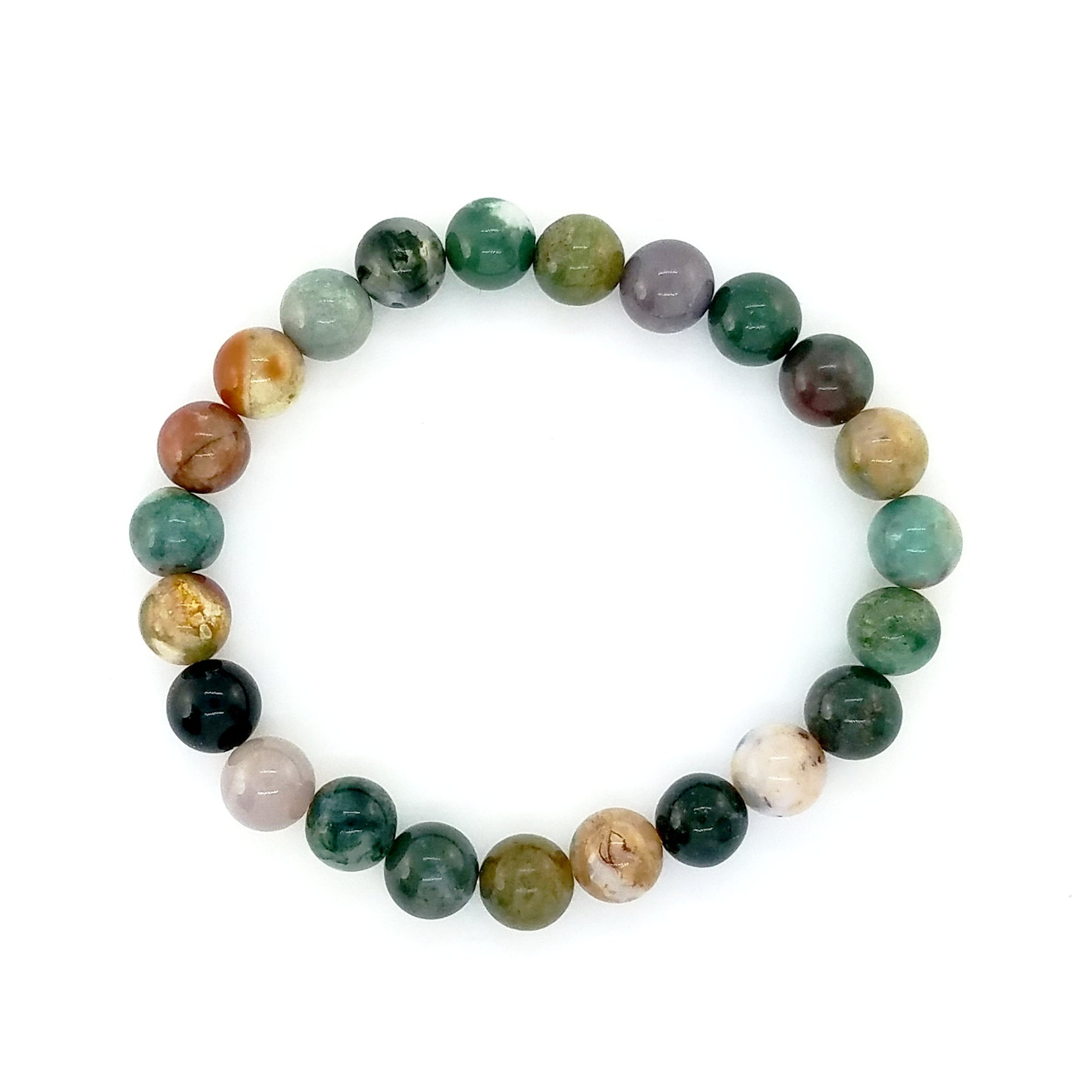 Fancy Jasper Bead Bracelet