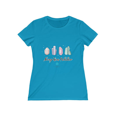 Always Wear Protection Women's Missy Tee