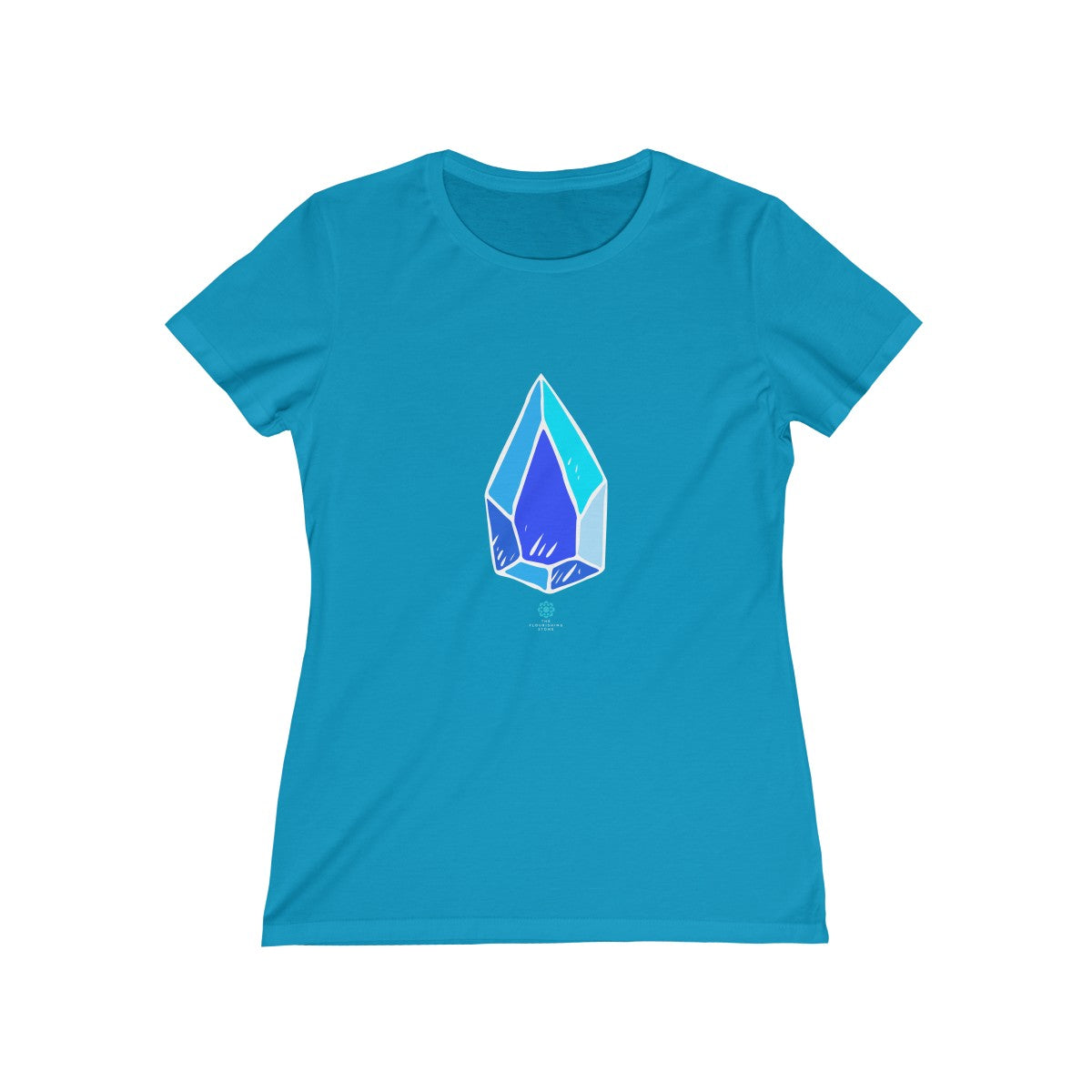 The Blue Crystal Women's Missy Tee