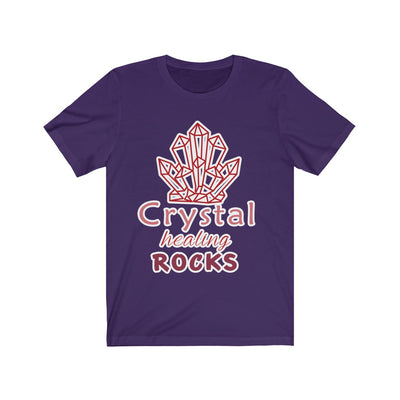 My Crystal Healing Rocks Short Sleeve Tee