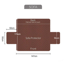 Load image into Gallery viewer, Sofa Slipcover Furniture Protector