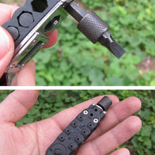 Load image into Gallery viewer, Mini EDC Tools Pocket Keychain Screwdriver