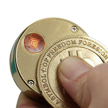 Load image into Gallery viewer, Rechargeable Flameless Bitcoin Electronic USB Lighter