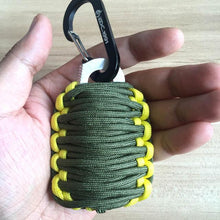 Load image into Gallery viewer, Tactical Paracord Survival Grenade