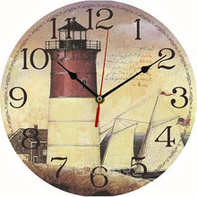 Load image into Gallery viewer, Vintage Wooden Wall Clock