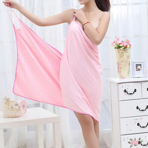 Microfiber Dress Bathrobe