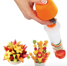Load image into Gallery viewer, Push & Pop Fruit & Vegetable Shaper Cutter