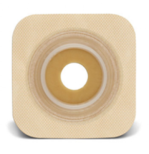 Convatec 125272 Sur-Fit Natura Flexible Skin Barrier Tan Collar Stoma 28mm Flange 45 mm