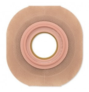 "Hollister 13908 New Image Convex Flextend Skin Barrier Red 2-1/4"" (57 mm) Pre-sized 1-1/2"" (38 mm) Box/5"