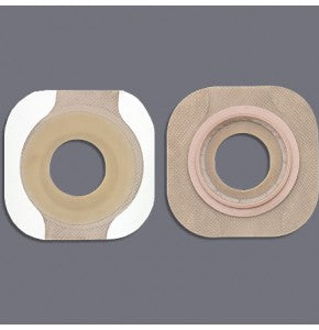 Hollister 14708 New Image Flextend Flat Flange Pre-Sized w/ Tape Border 57mm 38mm Stoma Box/5