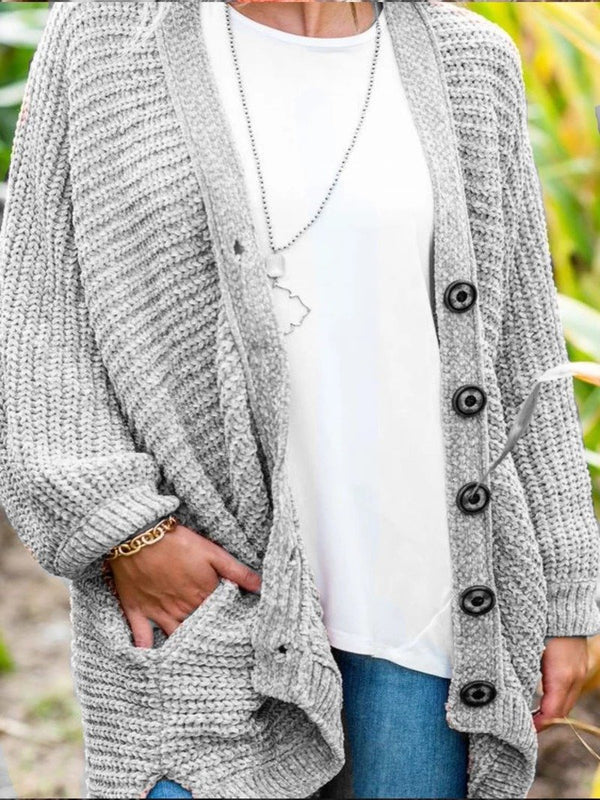 Casual Over Sized Long Sleeve Outerwear Cardigan