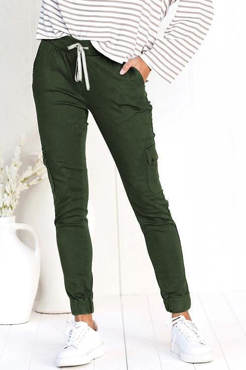 Dreamfitting Call Me Slim Drawstring Jogger Pants