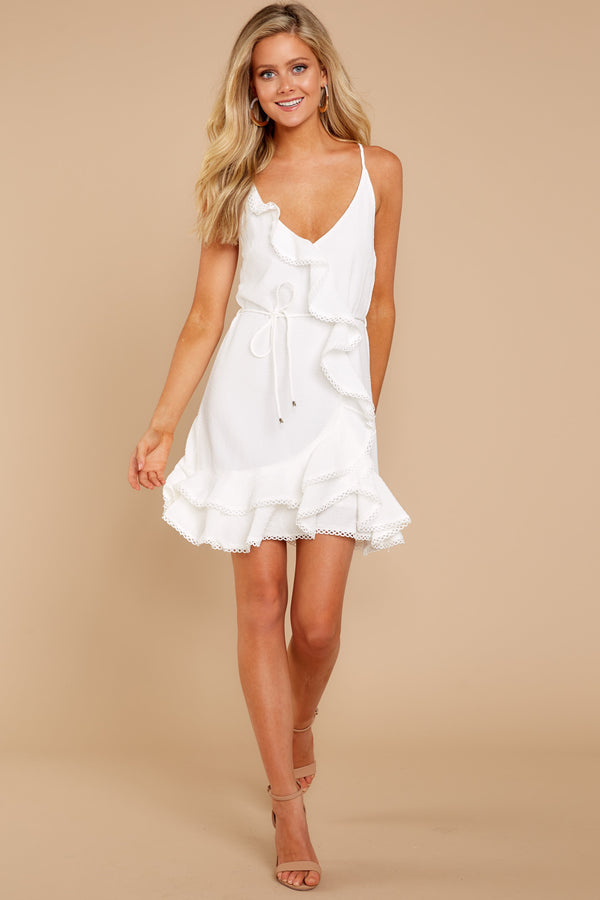 2 Perfect Point In Time White Dress at reddressboutique.com