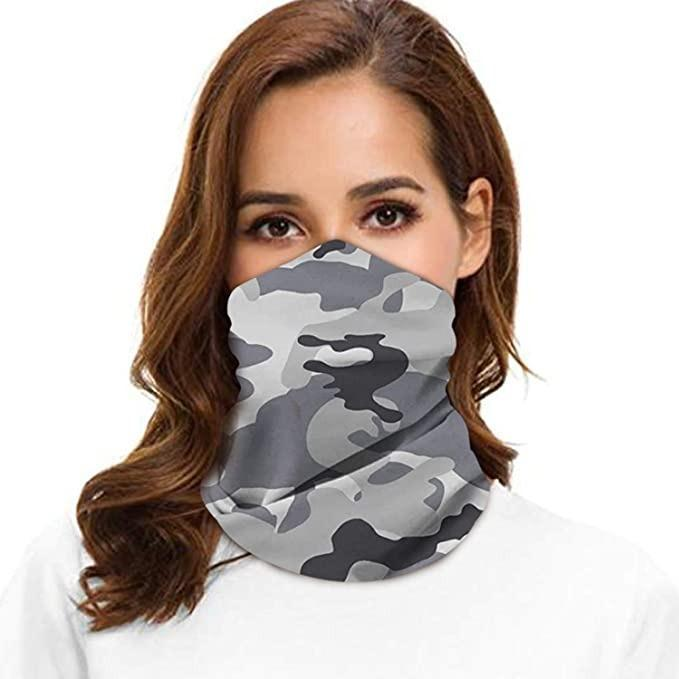 Seamless Bandanas Multifunctional Headwear Face Mask Neck Gaiter