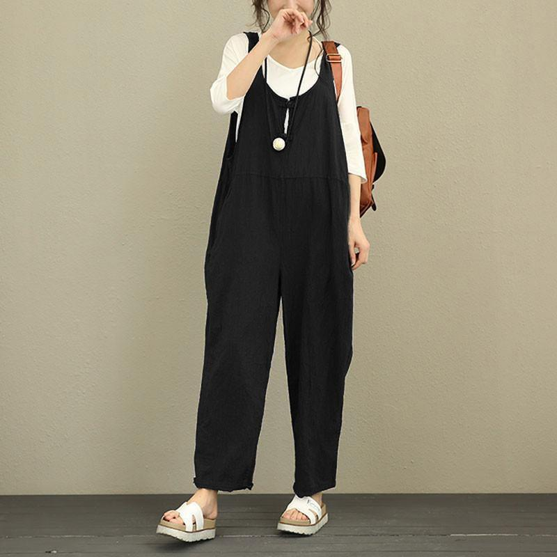 Casual Cotton Jumpsuits&rompers