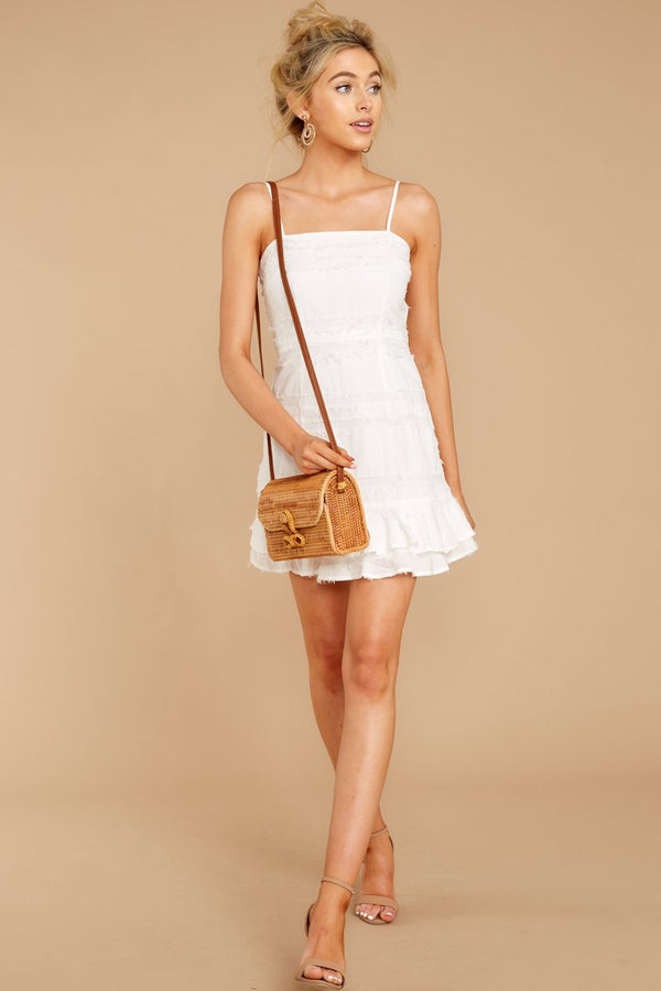 2 Insta This White Dress at reddressboutique.com