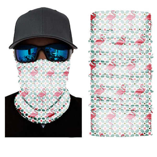 Face Mask and Neck Warmer with Dust and Sun UV Protection (Vitality S604)
