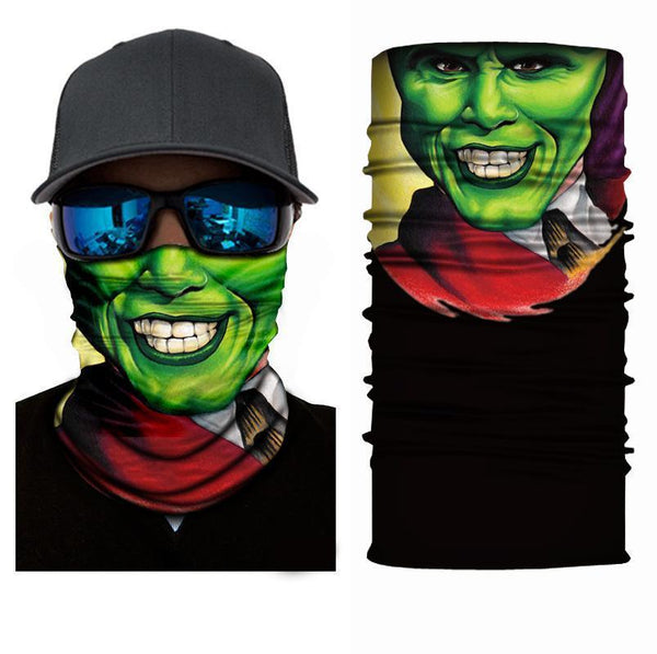 Face Mask and Neck Warmer with Dust and Sun UV Protection (portrait S76)