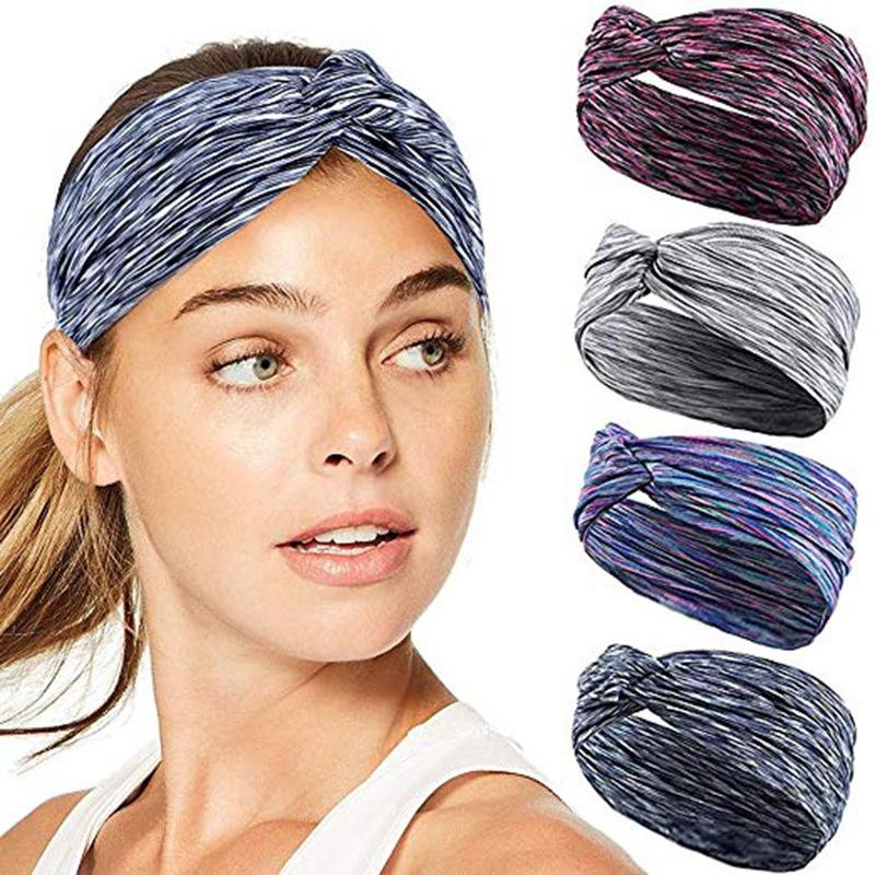 Breathable Sweatband Quick Dry Elastic Anti-slip Absorbent Sweat Headband