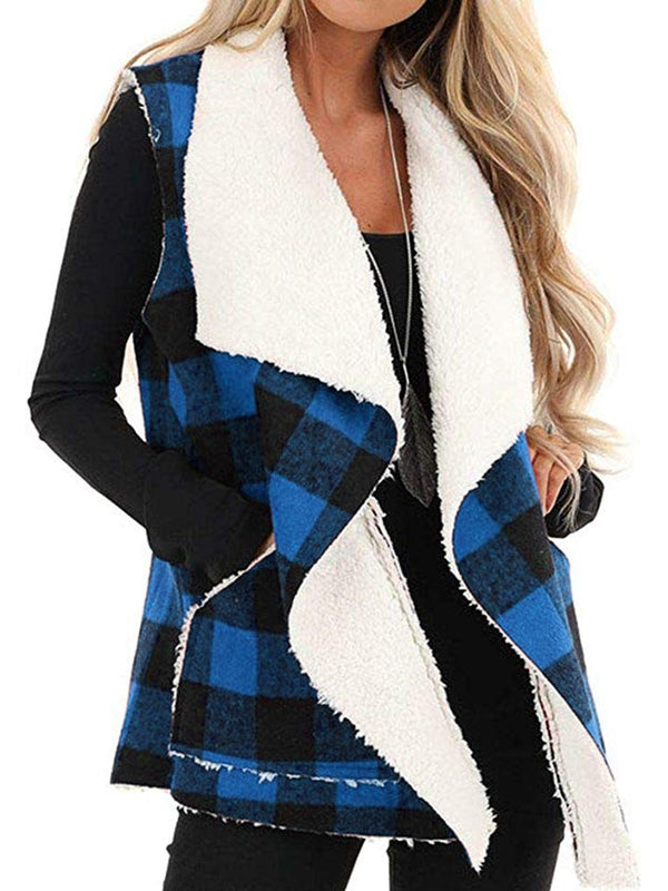 Checkered/plaid Casual Outerwear