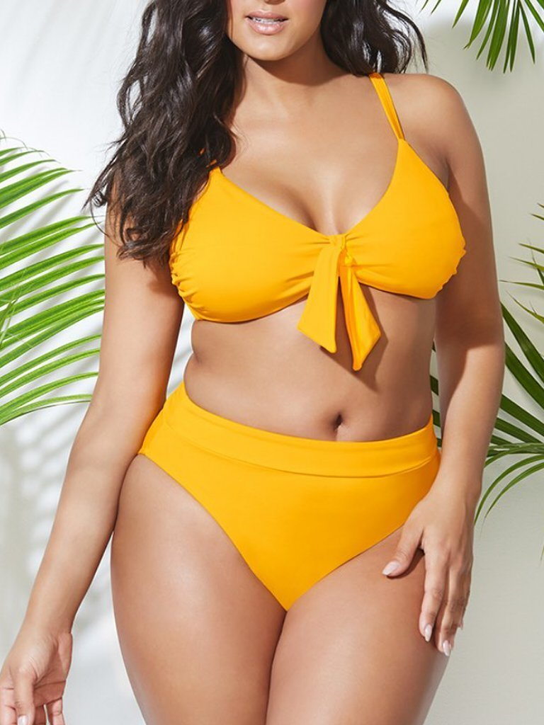 MENTOR GOLD HIGH WAIST BIKINI