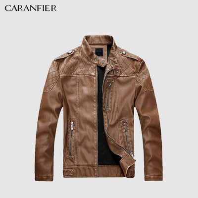 Autumn Leather Motocycle Jacket