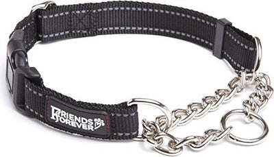 Friends Forever Martingale Collars for Dogs, Reflective No Pull Dog Collar for Training Large/Medium Breed Dogs, Large