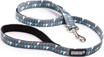 Friends Forever Durable Nylon Dog Leashes for Small Dogs to Large Dogs, Pattern Cat Leashes for Walking - Puppy Leash 5 Feet Long for Dogs & Cats