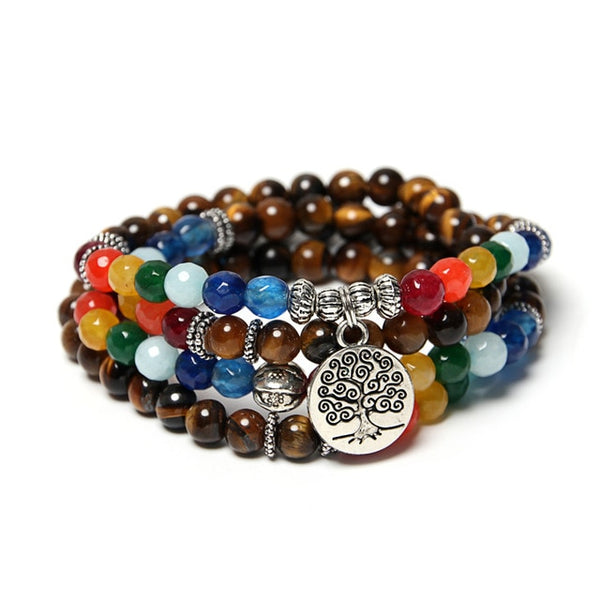 Tree Of Life Yoga Bracelet