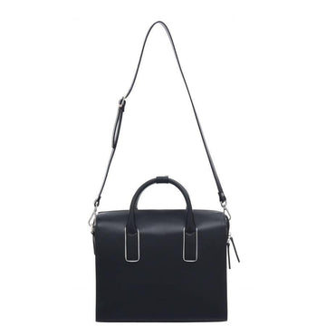 Doctors Style Black Leather Top Handle Bag - Brix and Bailey® - Contemporary Bag, Watch and Accessory Brand
